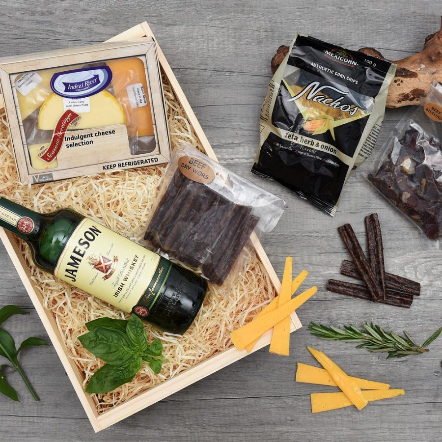 Jameson Irish Whiskey & Snack Gift | Hamper World