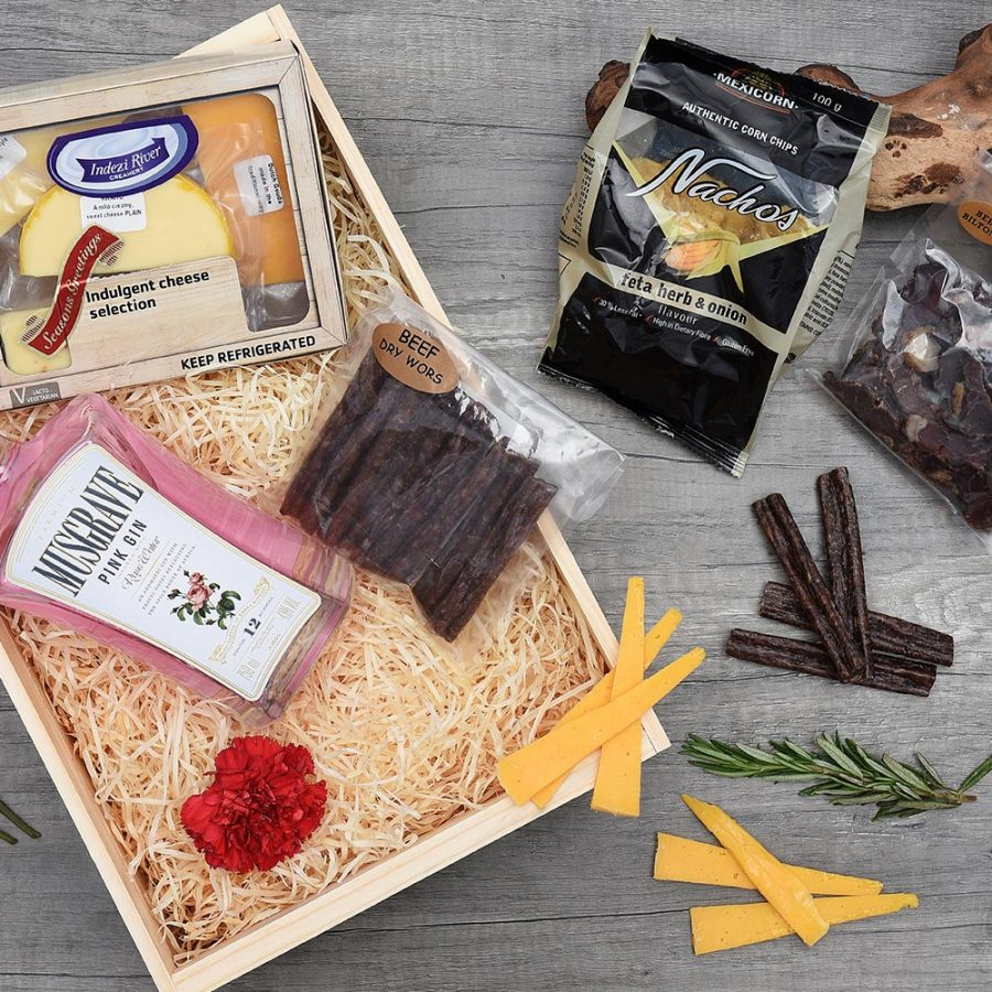 Musgrave Pink Gin & Cheese Snack Hamper | Hamper World