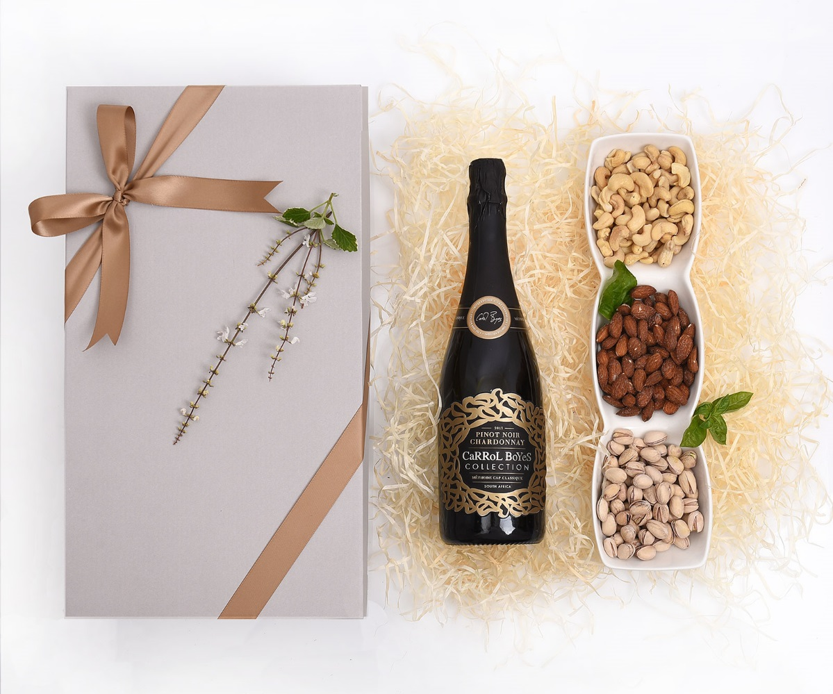 Carrol Boyes Collection MCC & Nuts Gift | Hamper World