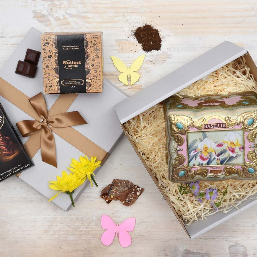 Basilur Tea & Chocolate and Sweets Gift | Hamper World