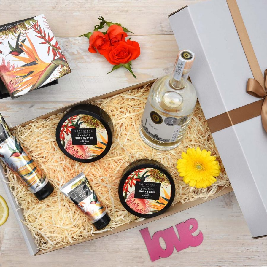 Jozi Dry Gin Gift & Pamper Hamper | Hamper World