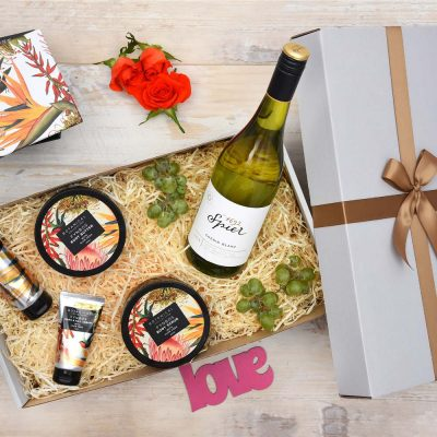 Fynbos Pamper & Spier Wine Hamper | Hamper World