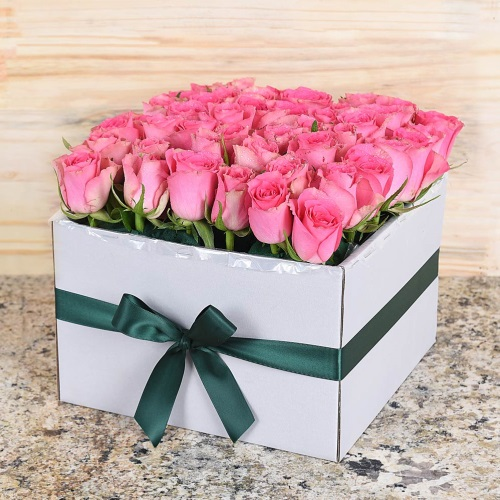 Unique Mother's Day Gifts 36 Pink Roses Hamper World