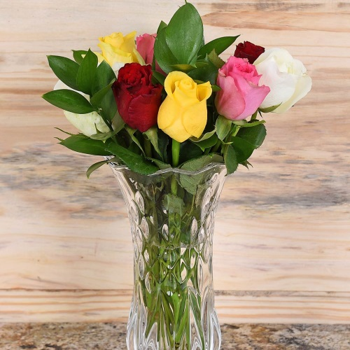 Unique Mother's Day Gifts Bouquet Of Mixed Roses Hamper World