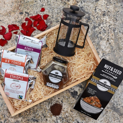 Unique Mother's Day Gifts Granola Coffee Gift Hamper World
