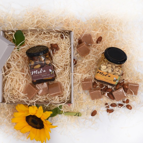 Unique Mother's Day Gifts Honey Fudge Nuts Gift Hamper World