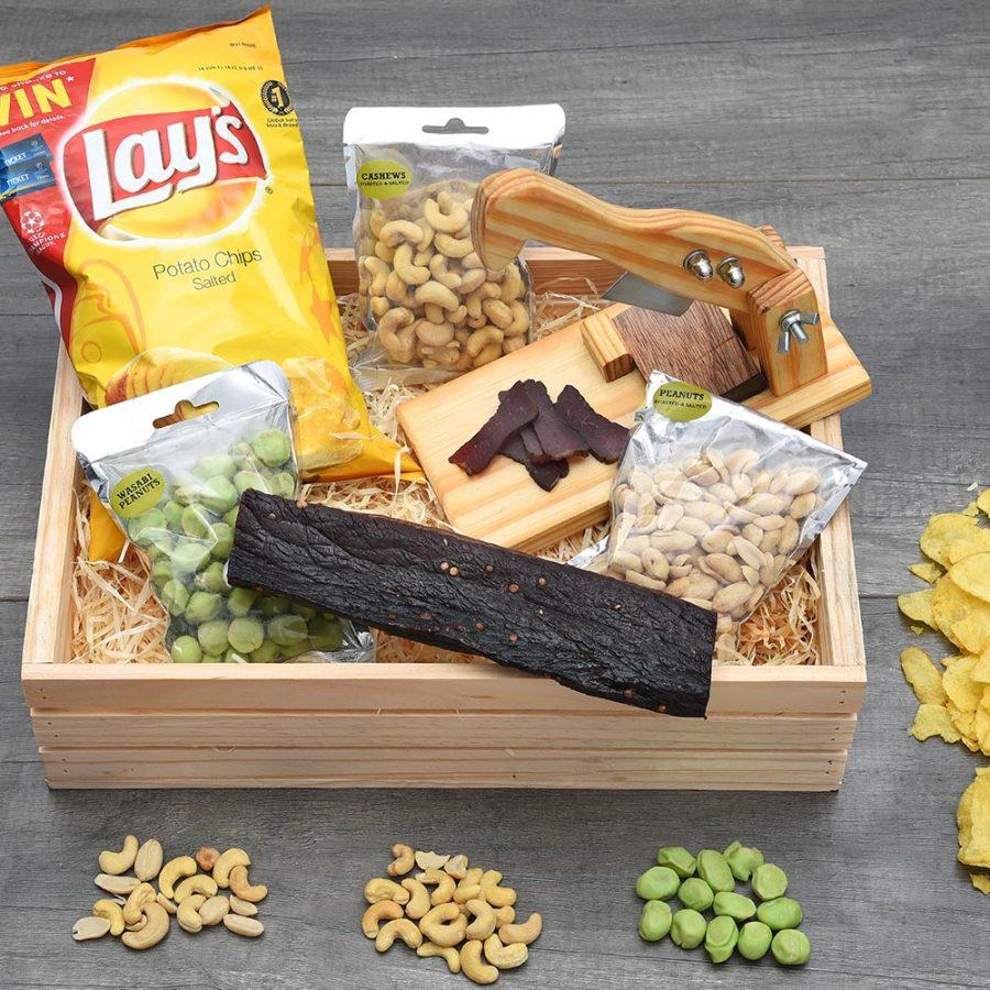 Biltong Cutter & Biltong Snack Hamper | Hamper World