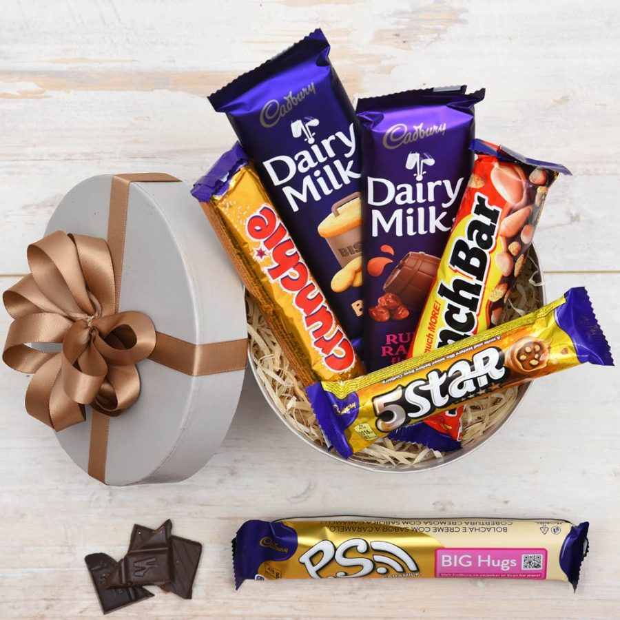 Cadbury Lovers Hat Box - Cadbury Chocolates | Hamper World