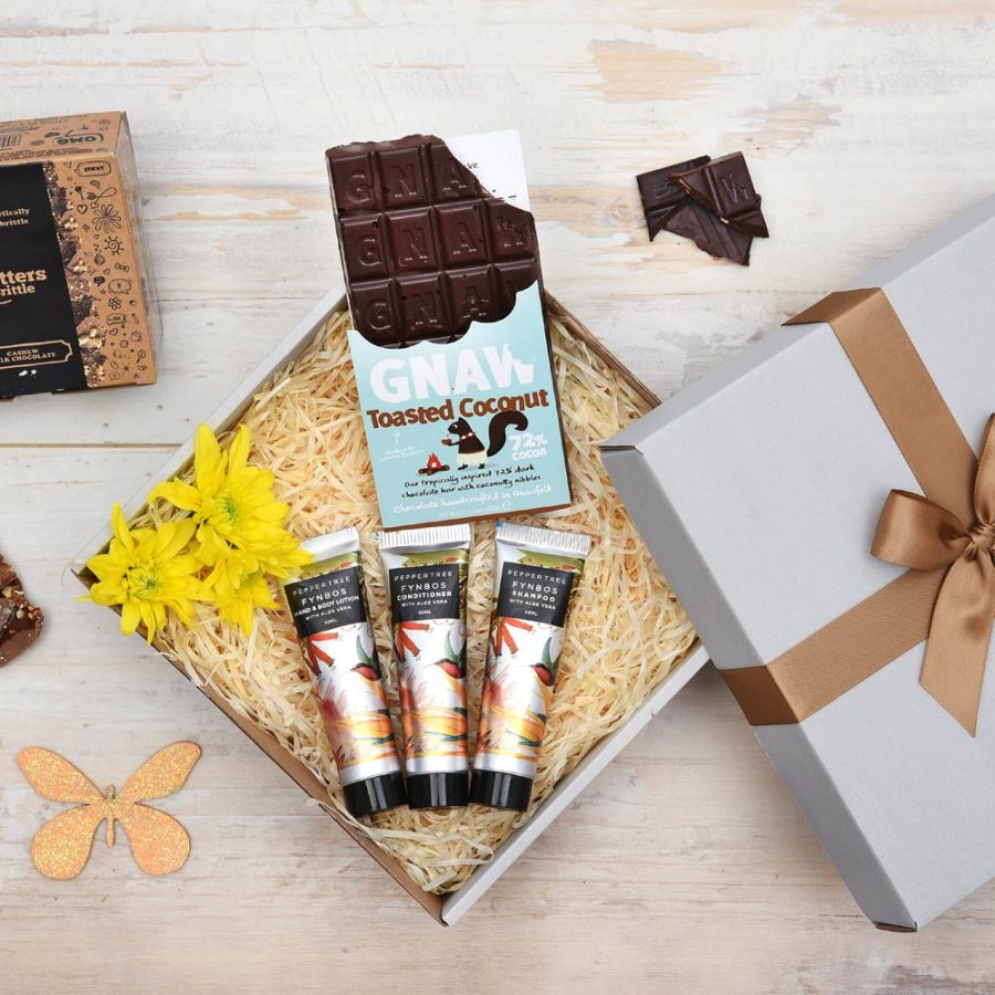 Chocolate Gift, Brittle & Pamper Hamper | Hamper World