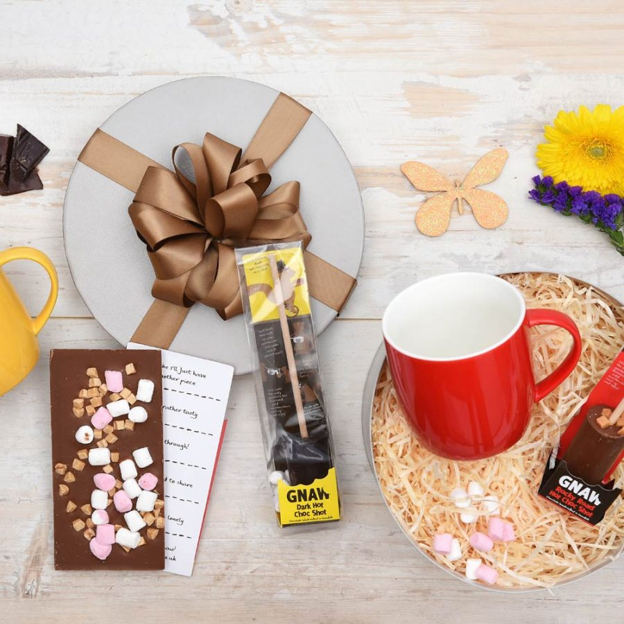 Gnaw Hot Chocolate Gift With Choc Shots | Hamper World