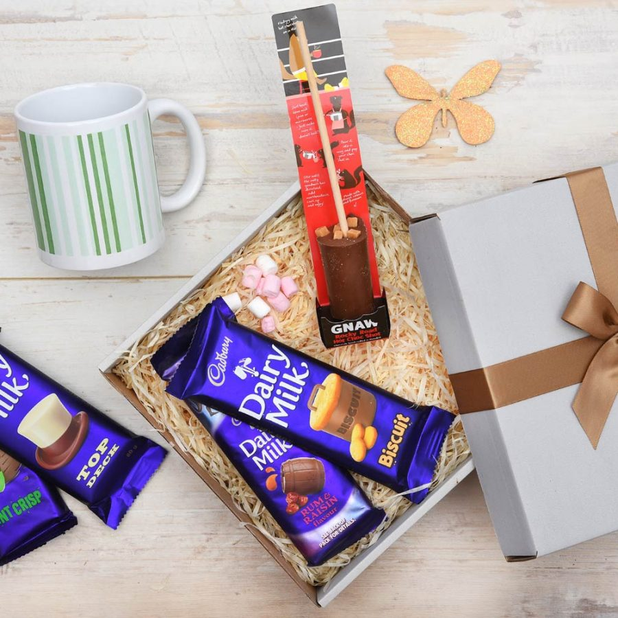Chocolate Gift With Mug & Hot Choc Shot | Hamper World