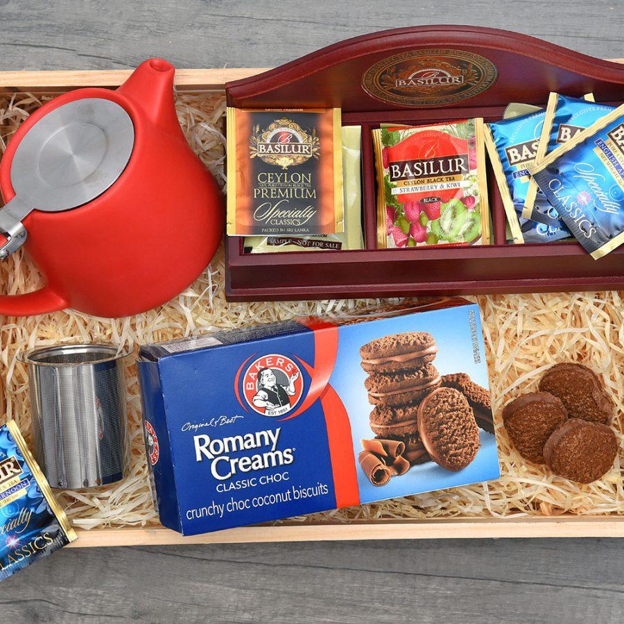 Exclusive Tea Set - Basilur Tea Gift Hampers | Hamper World