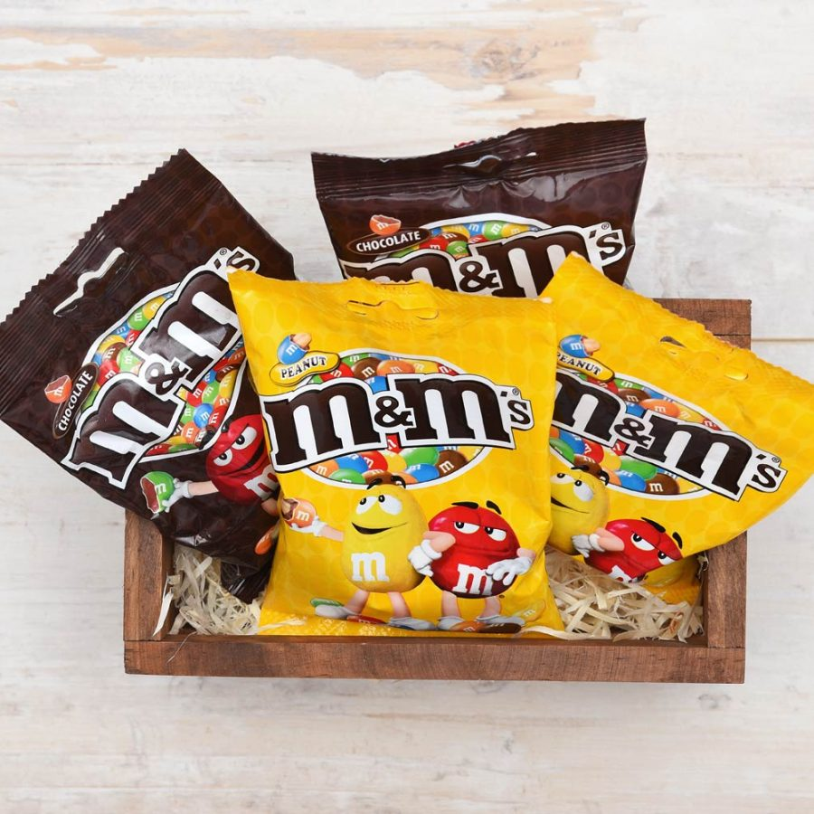 M&M's Lovers Mini Crate - M&M's | Hamper World