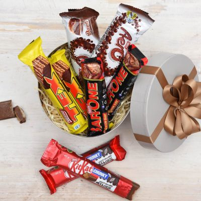 Nestle Lovers Hat Box - Nestle Chocolates | Hamper World