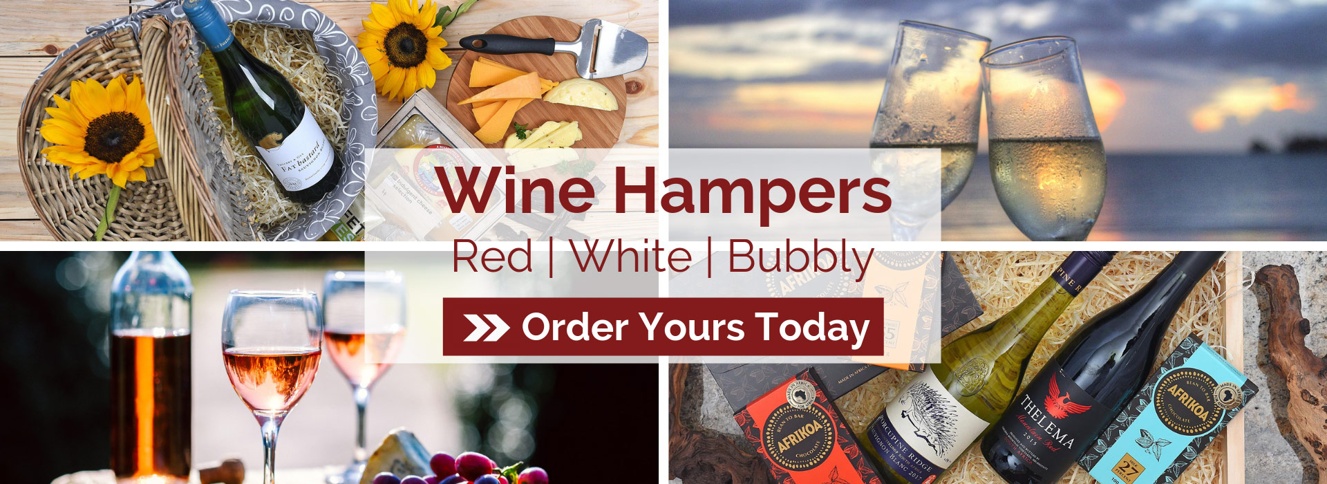 Range of Red and White Wines | Local Brands | Hamper World