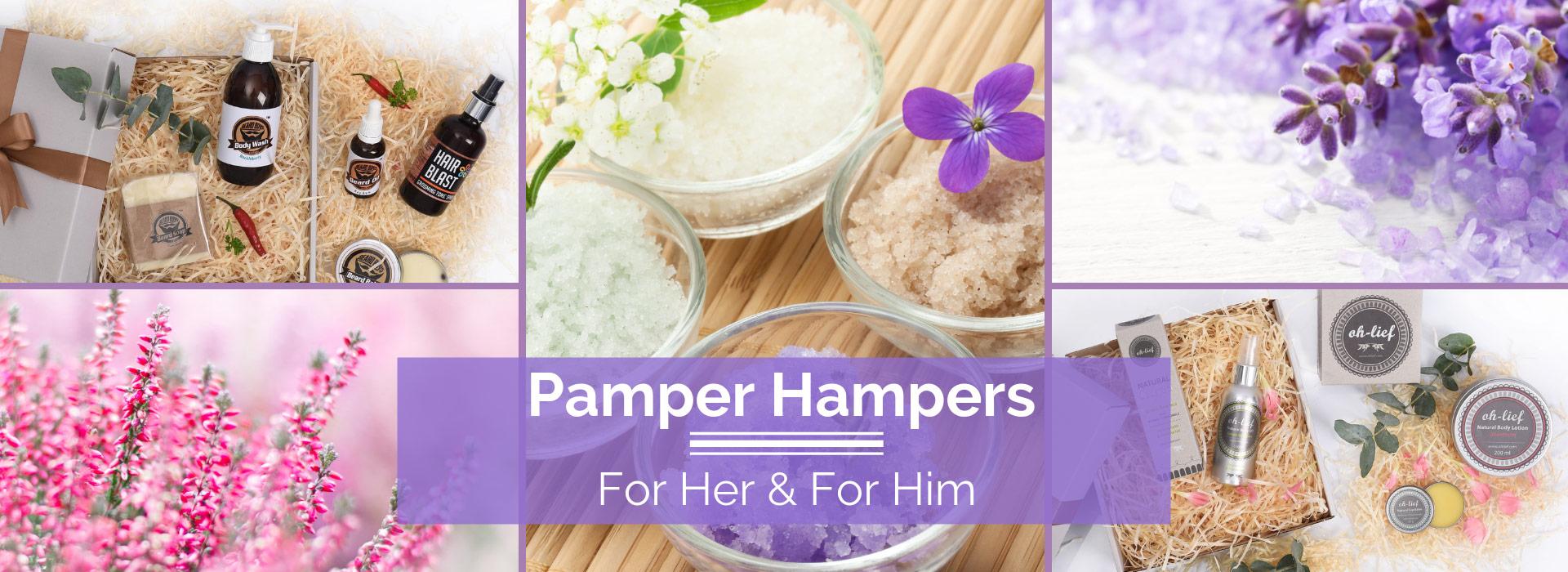 Pamper Hampers for Him and Her | Hamper World