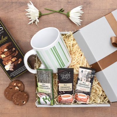 Winston & Julia Hot Chocolate & Biscuits Gift Hamper | Hamper World