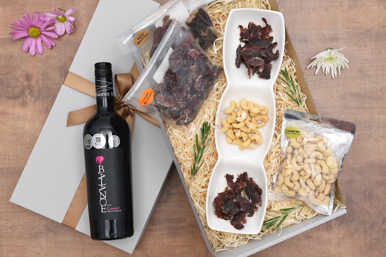 Balance 2016 Cinsault Wine & Biltong Gift Hamper | Hamper World
