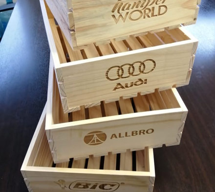 Branded Crates | Corporate Gifts For All Occasions | Hamper World