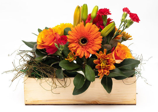 Branded Flower Boxes | Corporate Gifts | Hamper World