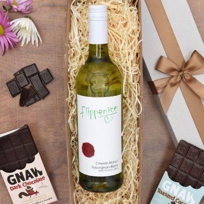 Wine Gift - Flippenice White Wine & Chocs | Hamper World