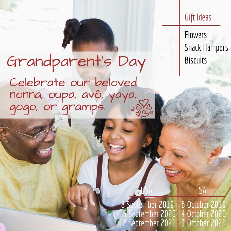 Gifting Holidays Of the Year | Grandparents Day | Hamper World