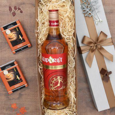 Chocolate Caramels & Klipdrift Gift Hamper | Hamper World