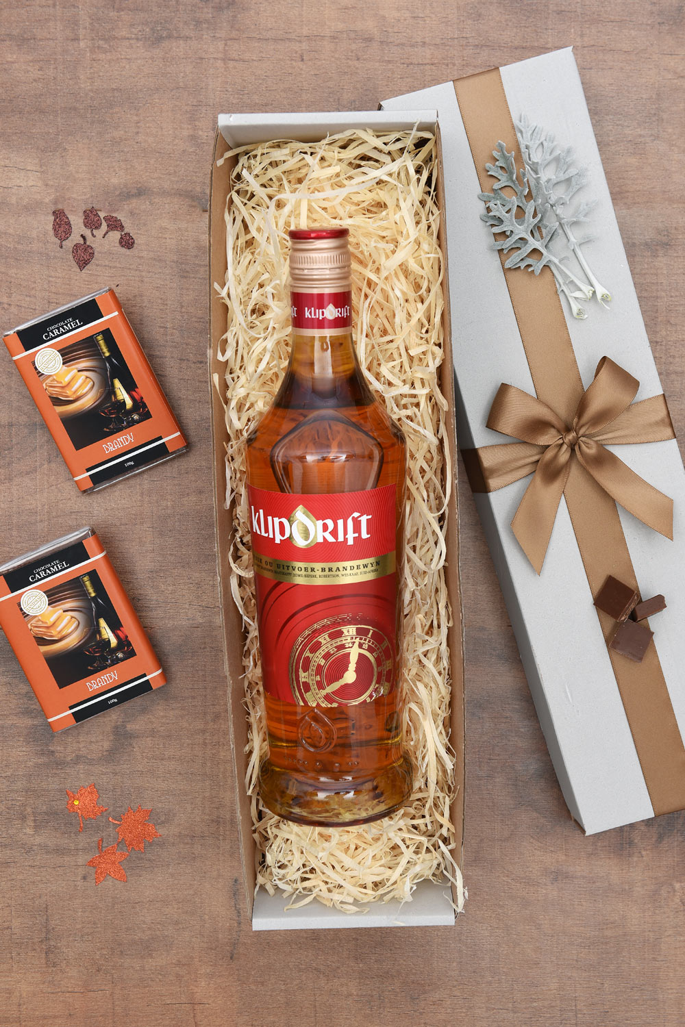 Chocolate Caramels & Klipdrift Gift Hamper | Hamper World