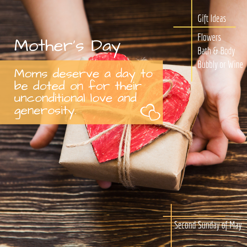 Gifting Holidays Of the Year | Mothers Day | Hamper World