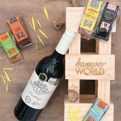 Alvi's Drift Pinotage & Sweets Gift Hamper | Hamper World
