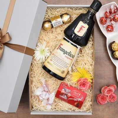 Frangelico Gift With An Overload Of Sweets | Hamper World