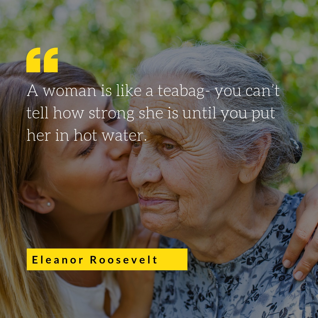 The Meaning of Women's Day SA | Eleanor Roosevelt | Hamper World