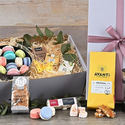 Avanti Coffee Macarons Hamper | Hamper World