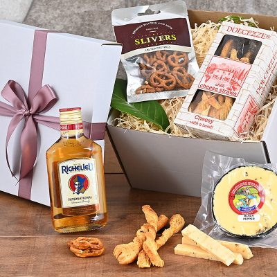 Cheese Richelieu Brandy Hamper | Hamper World