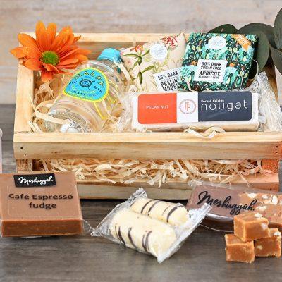 Mini Gin Sweets Crate | Hamper World