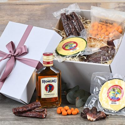 Richelieu Brandy Hamper With Snacks | Hamper World