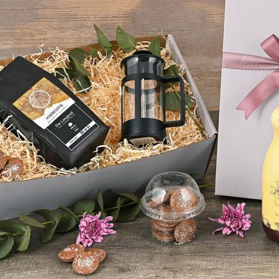 Stofpad Coffee Melktert Hamper | Hamper World