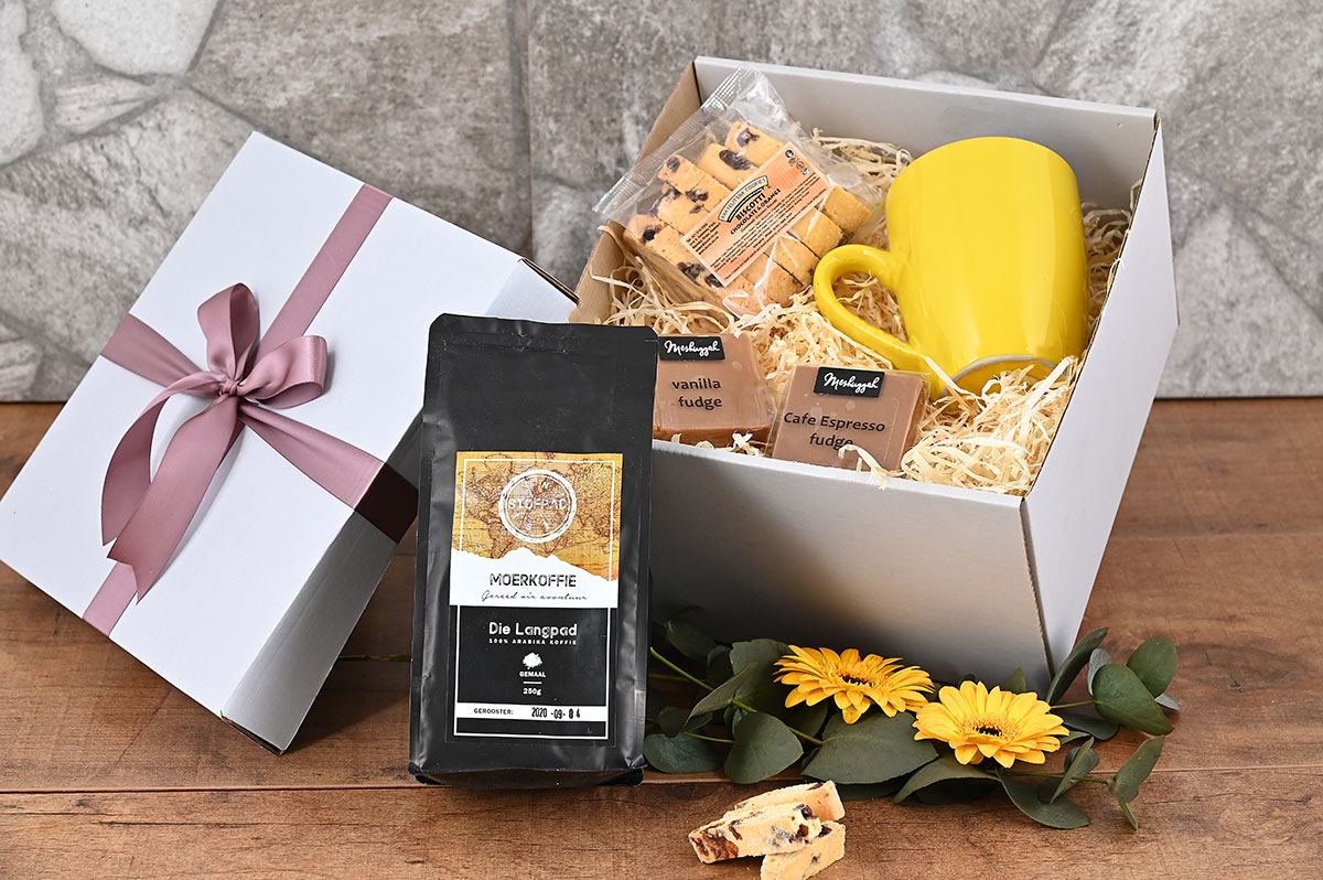 Moerkoffie Fudge Gift Hamper | Hamper World
