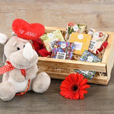 Rhino Chocolate Crate | Hamper World