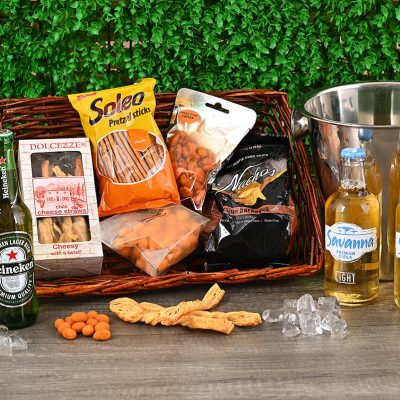 Beer & Cider Snack Hamper | Hamper World