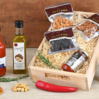 Braai Sauces & Snack Hamper | Hamper World