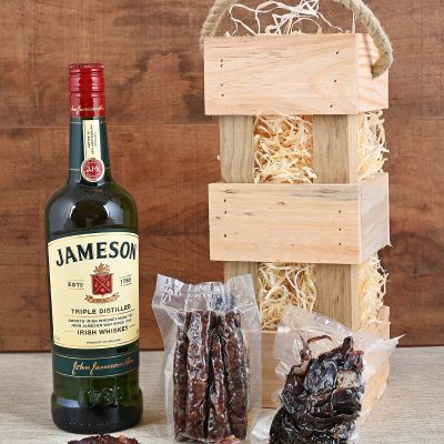 Jameson Whiskey Carrier with Snacks | Hamper World