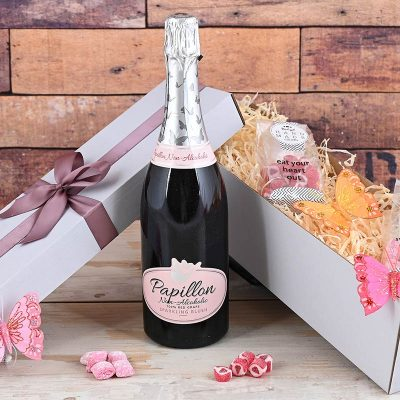 Papillon Sparkling Wine & Sweets | Hamper World
