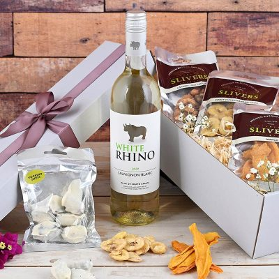 Rhino Wine Hamper Dried Fruits | Hamper World