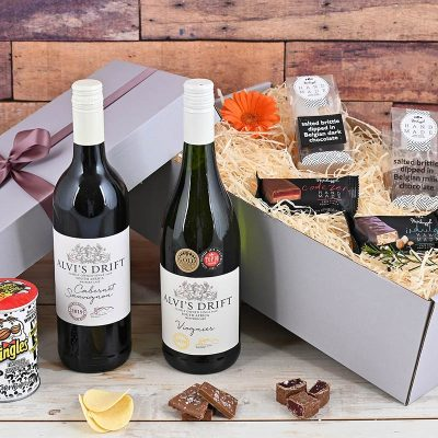 Snacks & Alvis Drift Wine Overload | Hamper World