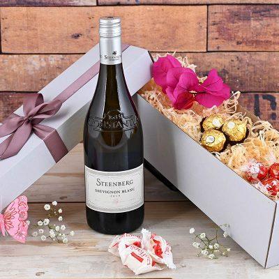 Steenberg Wine Hamper & Chocolates | Hamper World