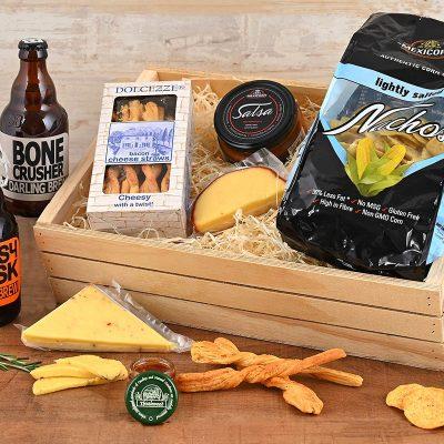 Darling Brew Craft Beer & Cheese Crate | Hamper World