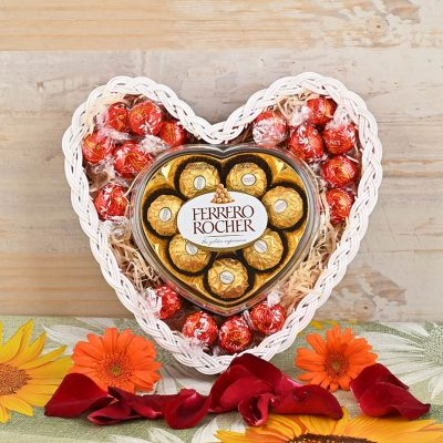 Heart Shaped Chocolate Overload | Hamper World