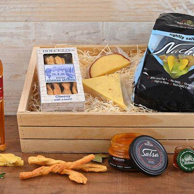 Johnnie Walker Red & Cheese Crate | Hamper World