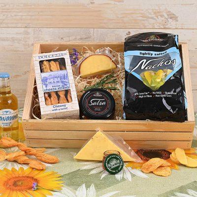 Savanna Light Hamper & Cheese Crate | Hamper World